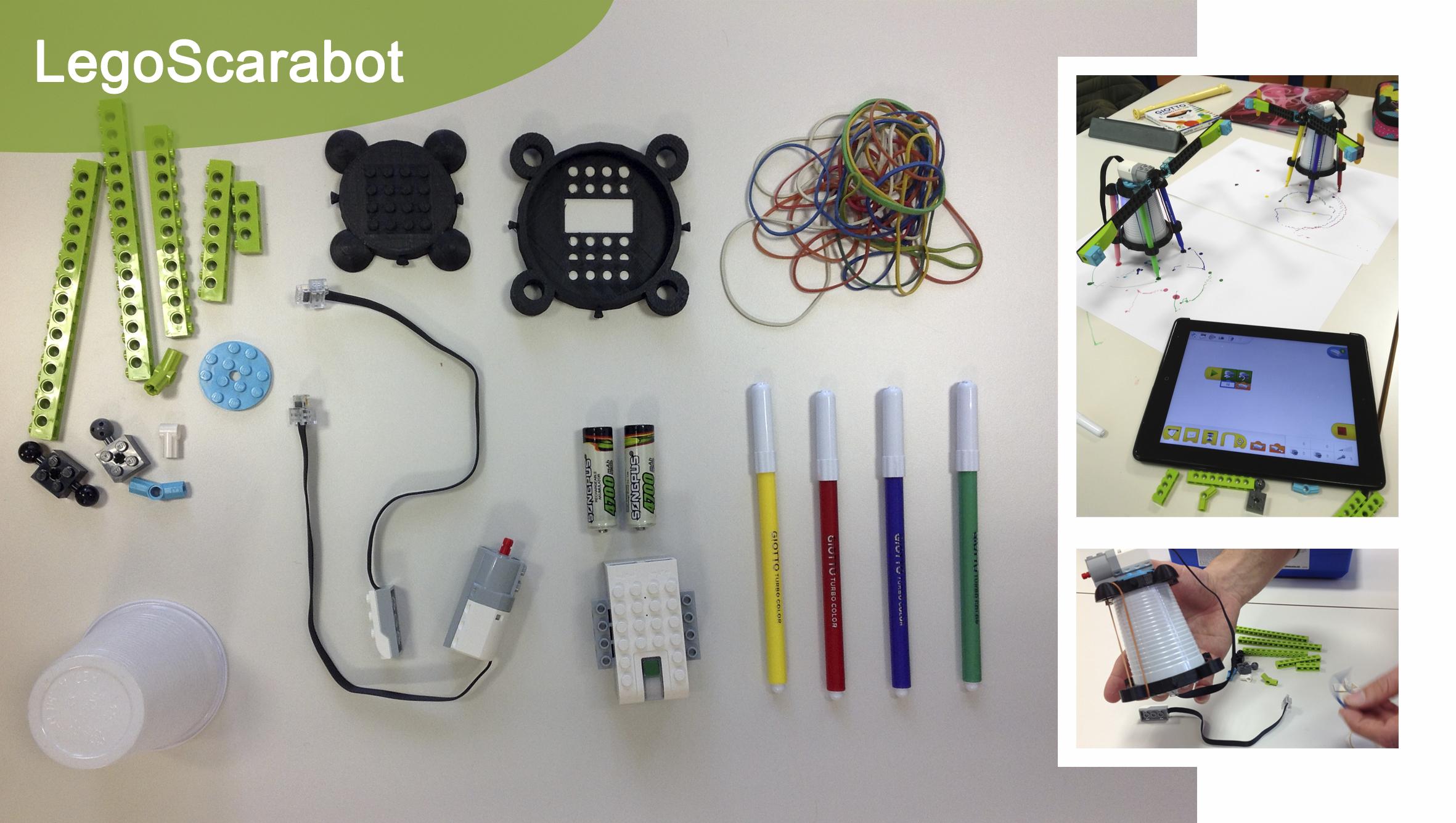 Banner legoScarabot